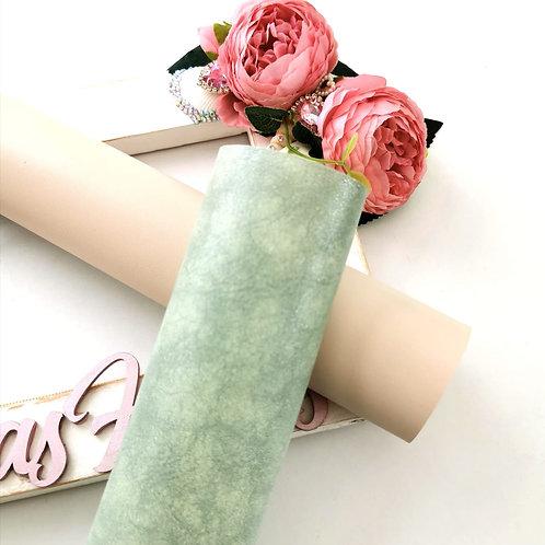 Mint Shimmer Leatherette