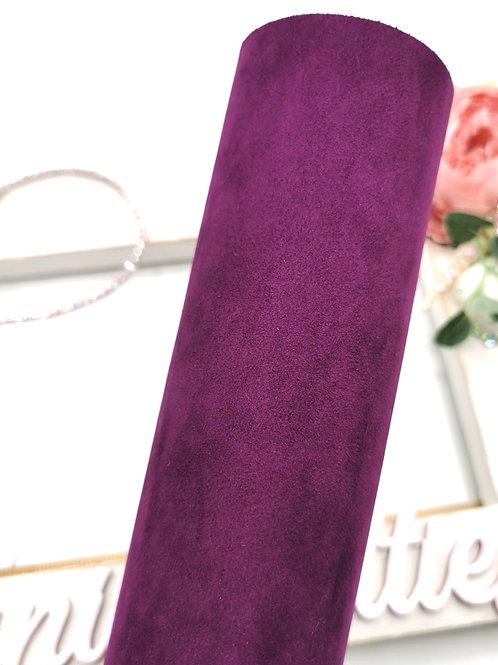 Faux Suede Purple
