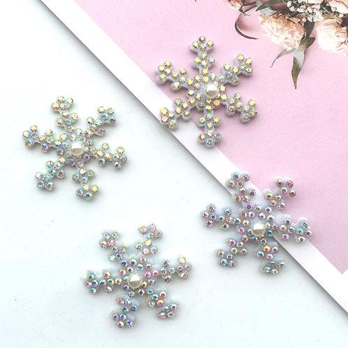 Snowflake Embellished Applique