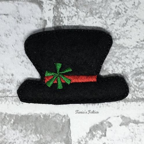 Snowman Hat Feltie