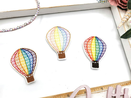 Hot Air Balloon Rainbow Felties (Pack of 4)