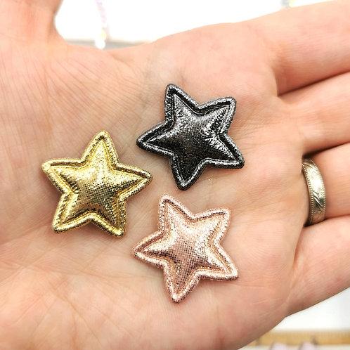 Padded Shimmer Stars