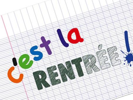 C' est la Rentrée !!!