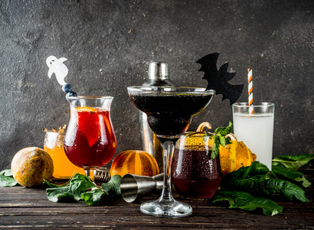 Spooky Season Sorcery, a Collection of Halloween Cocktail Recipes