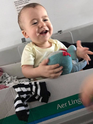Flying with an infant: Aer Lingus