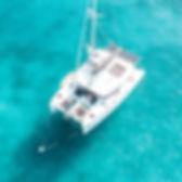 Sail LUNA Lagoon 450 Crewed Charter Virgin Islands
