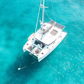 Sail LUNA Lagoon 450 Crewed Charter Virgin Islands