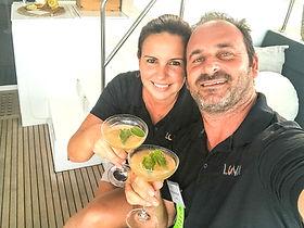 Nim & Fabiola Hirschhorn LUNA Crew
