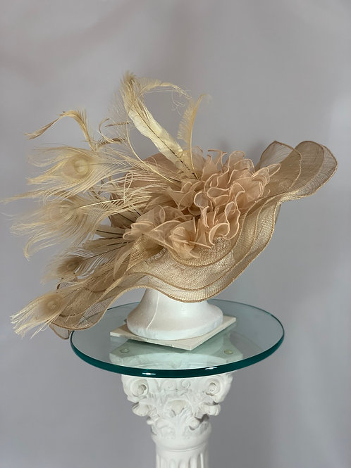 "Kentucky Derby Hat ""Soft and Subtle"" SOLD"