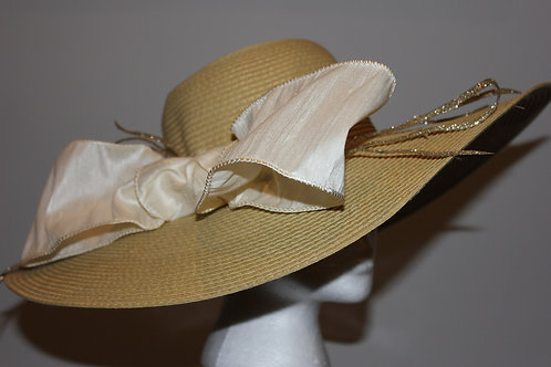 """Gilded Filly"" Kentucky Derby Hat"