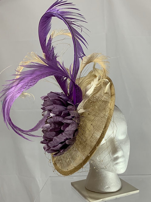 Racetrack Royalty - Fascinator