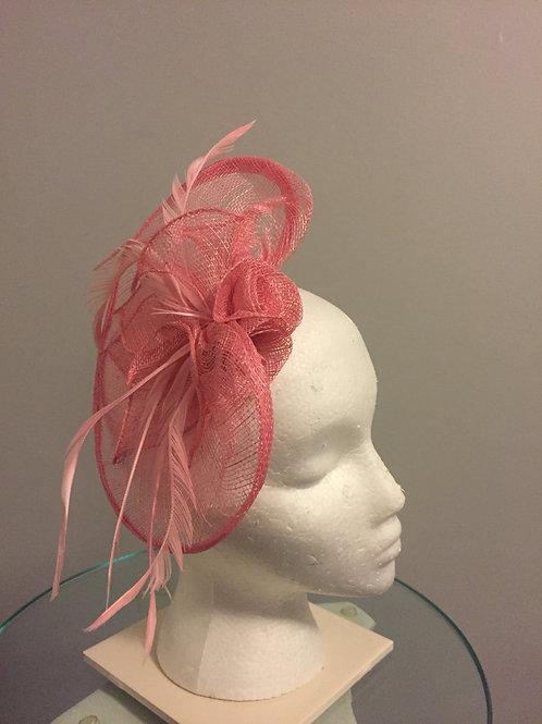 "Kentucky Derby - Oaks Pink Fascinator - ""Petite and Sweet"""