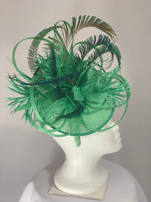 Strutting To Be Seen - Kentucky Derby Fascinator on Headband