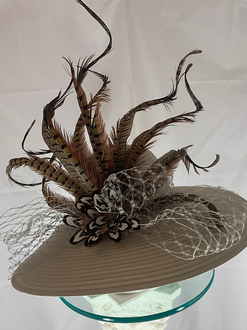 "Kentucky Derby Hat-""Curled and Creative"""