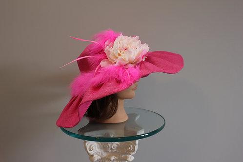 "Pink Kentucky Derby Hat ""Promenade Pony"" SOLD"