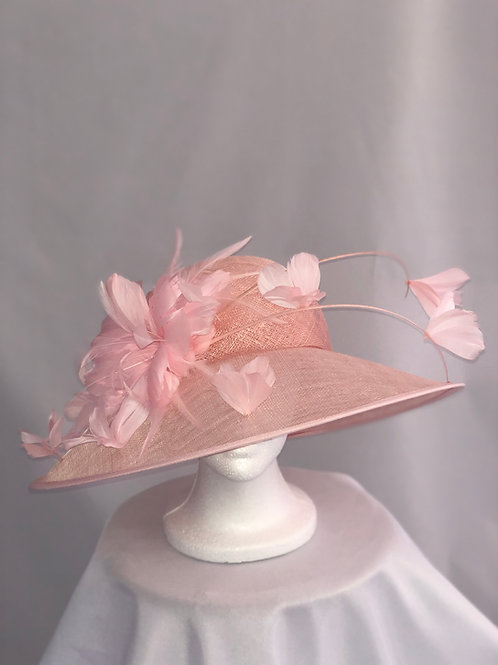 "Kentucky Derby Pink Hat ""Pink Flirtation"""