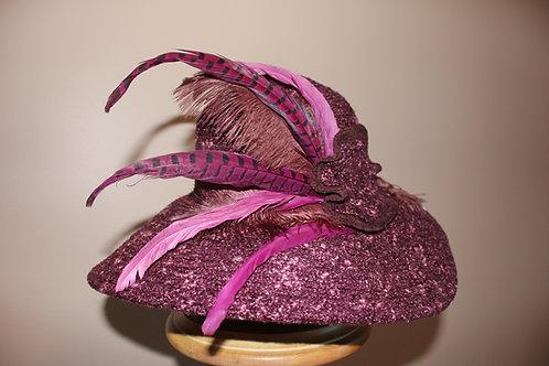 """""""Merlot Chapeau"""" - fall hat"""