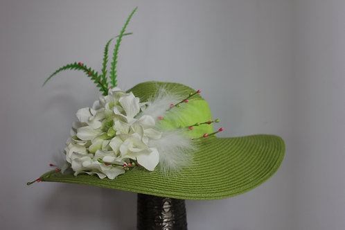 """Lime Lilly""  Kentucky Derby Hat SOLD"