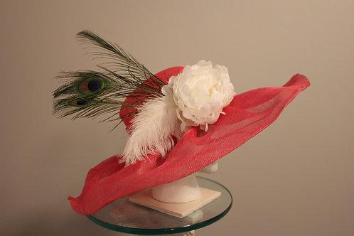 """Kentucky Derby Hat """"Pink de Plume"""""""