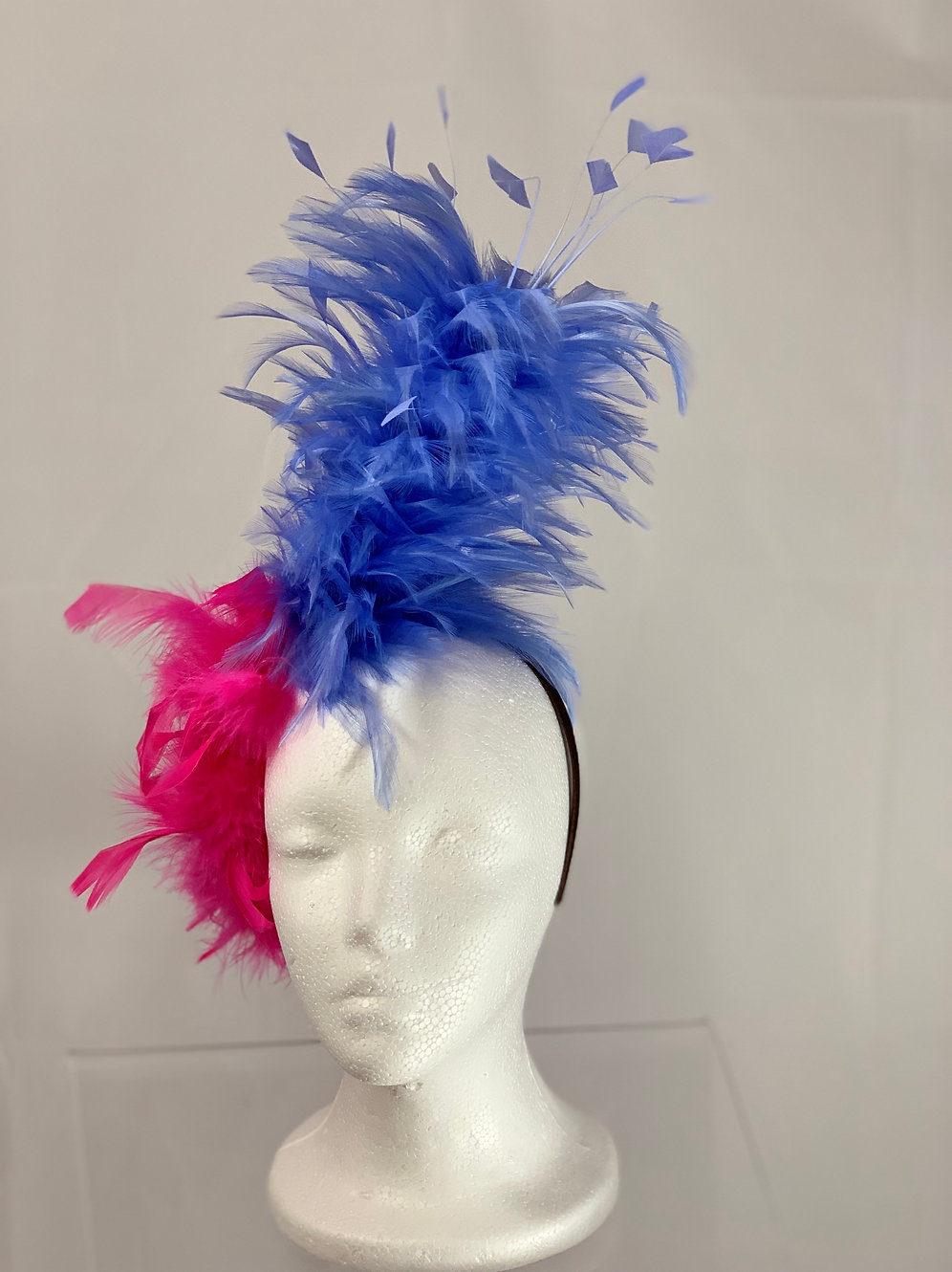 Kentucky Derby Fascinator Periwinkle Princess Hats