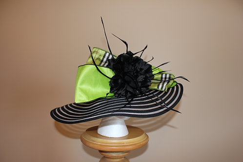 """Good Luck Charm"" Black Hat for KY Derby"