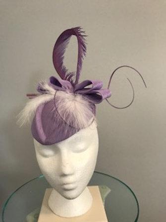 """Lavender and Luscious"" - fascinator"