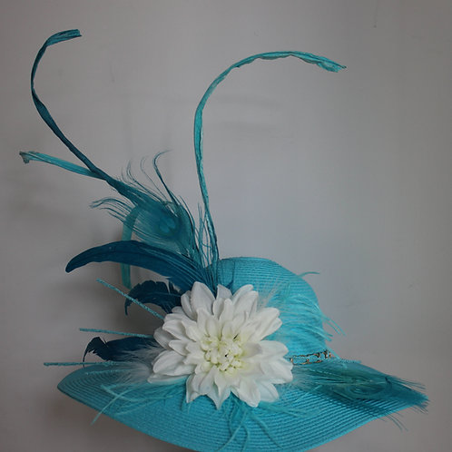 """Lilly Bleu""  Kentucky Derby Hat SOLD"