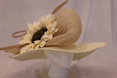 """""""Sophisticated Saddle""""Kentucky Derby Hat"""