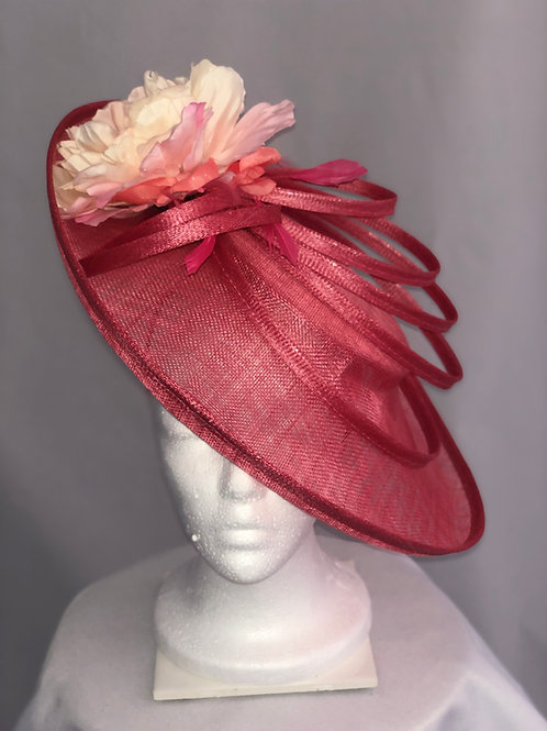 "Kentucky Derby Fascinator ""Ring Around the Track"""