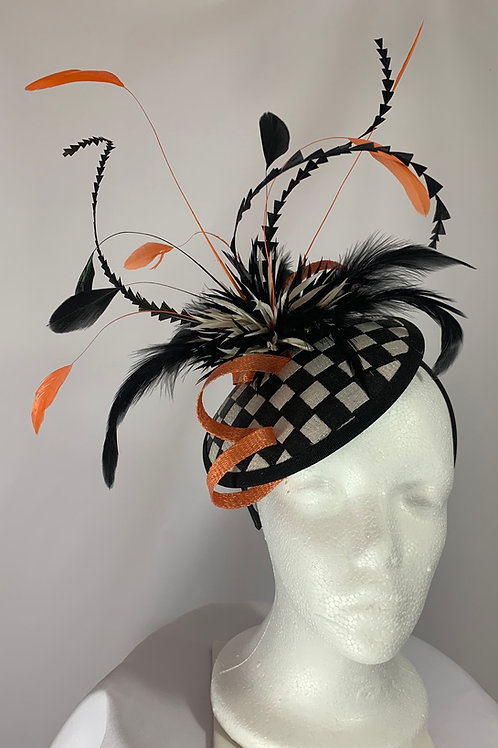 "Kentucky Derby  Fascinator ""A Wild Bet"""