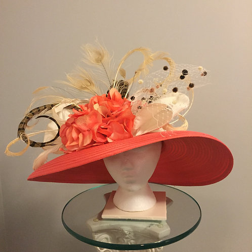 Kentucky Derby Hat- Melon Madness - sold