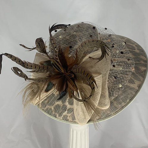"Kentucky Derby Hat ""Animal Animation"""