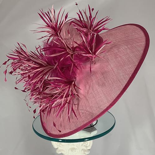 """Kentucky Derby Hat """"Pink Dynamite"""""""