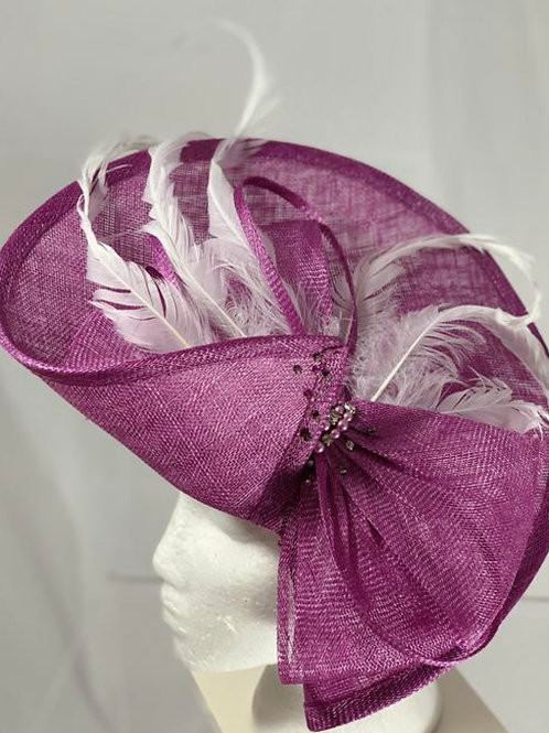 "Kentucky Derby Fascinator - ""Wire to Wire"""