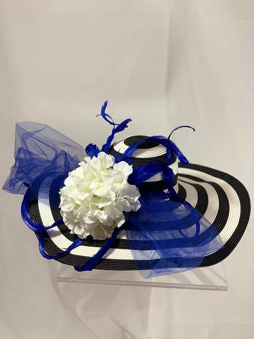 """KY Blue"" Kentucky Derby Hat"