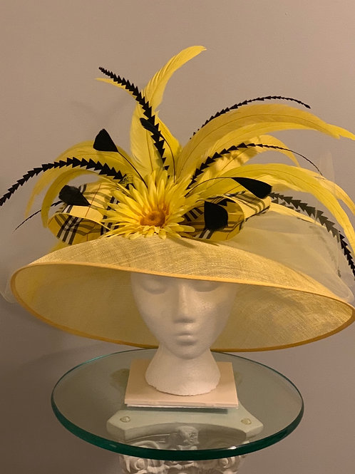 """SOLD -Kentucky Derby Hat """"Oh the Sun Shines Bright on My Ol' Kentucky Home"""" SOLD"""