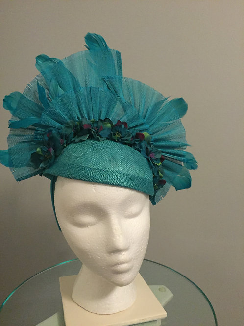 Breeders' Cup or Kentucky Derby Fascinator - Foals & Flowers