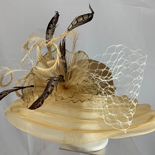"""Kentucky Derby Hat """"Hall of Fame"""""""