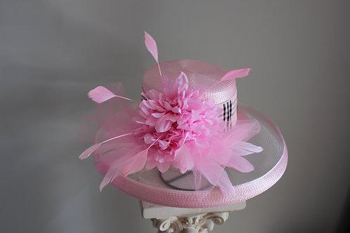 Fleur de Friday - SOLD - pink hat