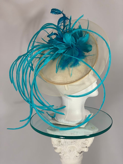 "Kentucky Derby Fascinator ""Catch Me If You Can"""