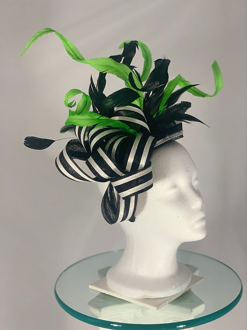 """Kentucky Derby Fascinator """"Jester of the South"""""""