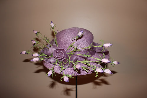 """Lovely in Lilac"" Kentucky Derby Hat SOLD"