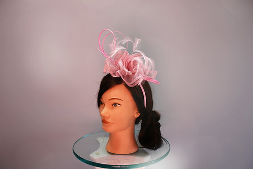 "Kentucky Derby Fascinator-""Mauve Mademoiselle"""