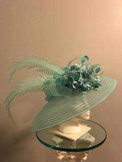 99e44670c1ef7 ... light blue KY Derby Hat SOLD.   175.00. SOLD.