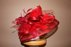 Red Feathered Fancy $135