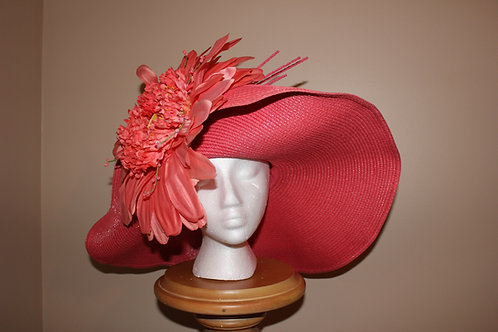 """Floral Fantasy""  Kentucky Derby Hat"