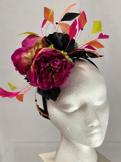 "Kentucky Derby Fascinator ""Hot Tip to Win""SOLD"