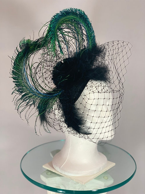 "Kentucky Derby Fascinator ""Fly the Coup"""