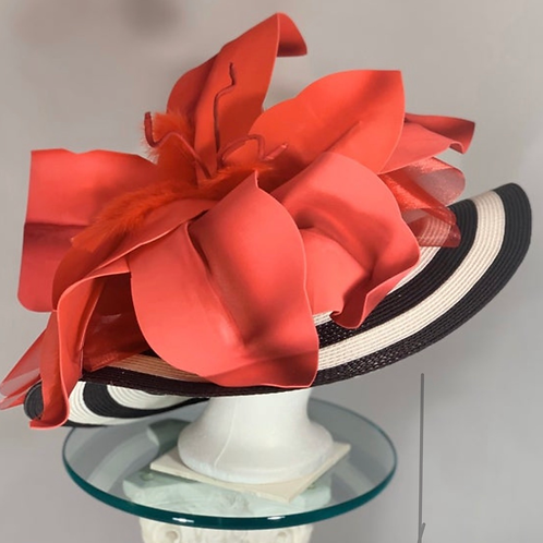 "Kentucky Derby Hat ""Coming Through"" SOLD"