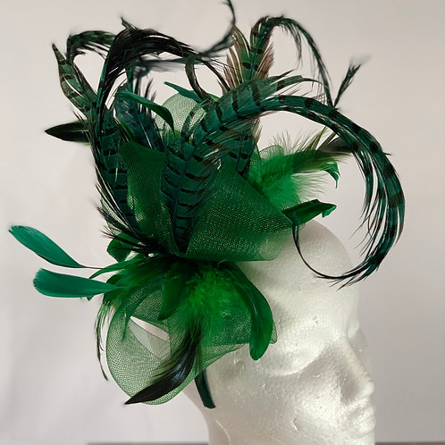 Kentucky  Derby Green Fascinator Lucky in Kentucky SOLD ""